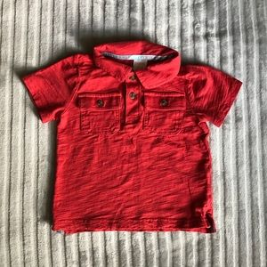 🎀 Gymboree Red Polo Shirt